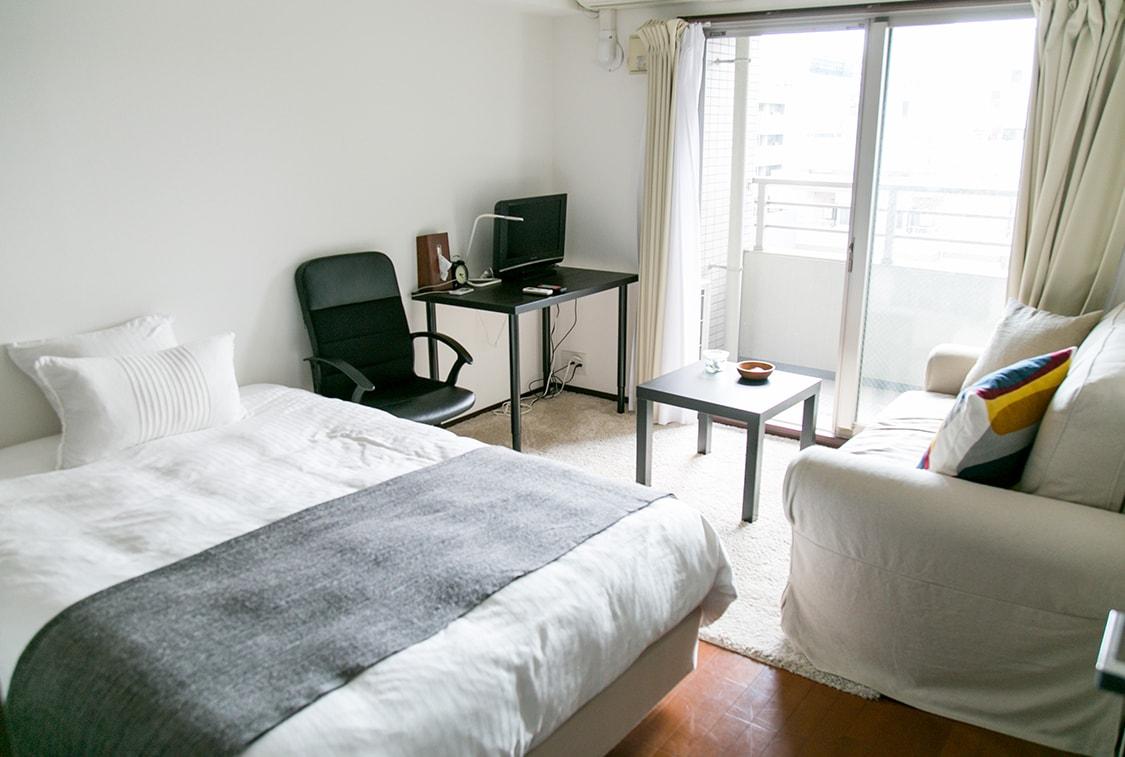 シンプルなお部屋で